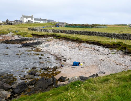 Where is the best beaches in Shetland for beach combing?