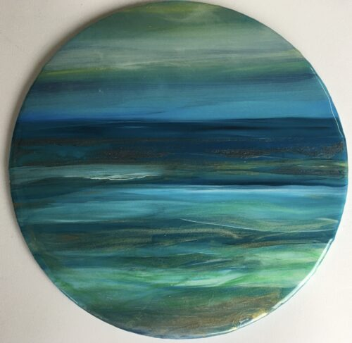 circular resin seascape pic