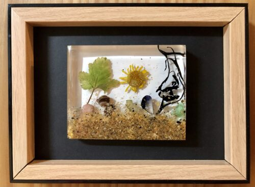 framed resin art